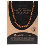 Amberbebe Cognac Child Necklace