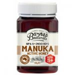 Barnes Naturals Manuka Active Honey Npa5+