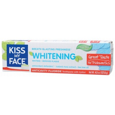 Kiss My Face Tpaste Fluoride Cool Mint
