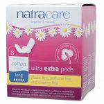 Natracare Ultra Extra Pads Wings Long